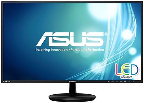 """Asus 27"""" Black LED Computer Monitor"""