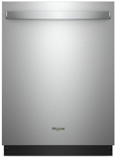 Whirlpool TotalCoverage Spray Fingerprint Resistant Stainless Steel Built-In Dishwasher