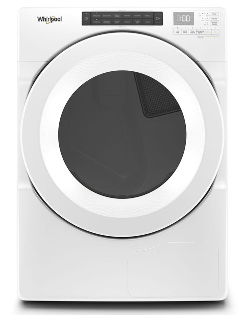 Whirlpool 7.4 Cu. Ft. White Heat Pump Electric Dryer -  WHD560CHW