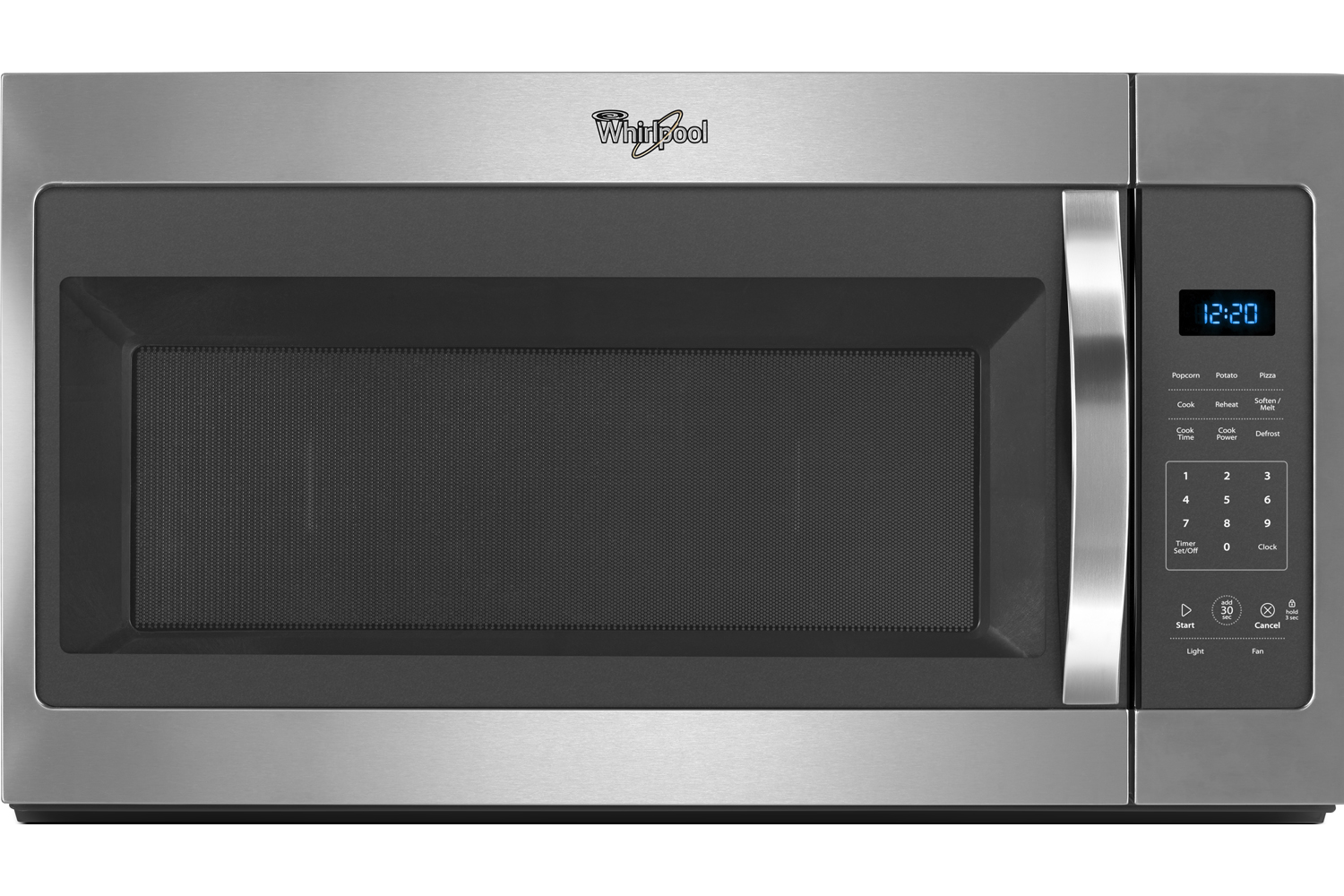 Whirlpool Stainless Steel Over-The-Range Microwave Hood C...