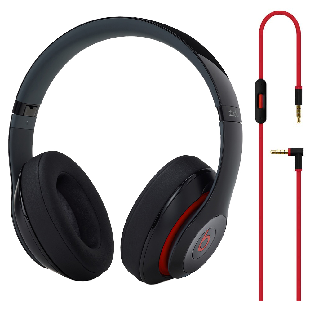 Beats By Dre By Dr. Dre Black Studio Over-Ear Wired Headp...