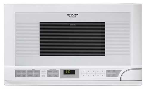Sharp R1211 Over the Range Microwave - White