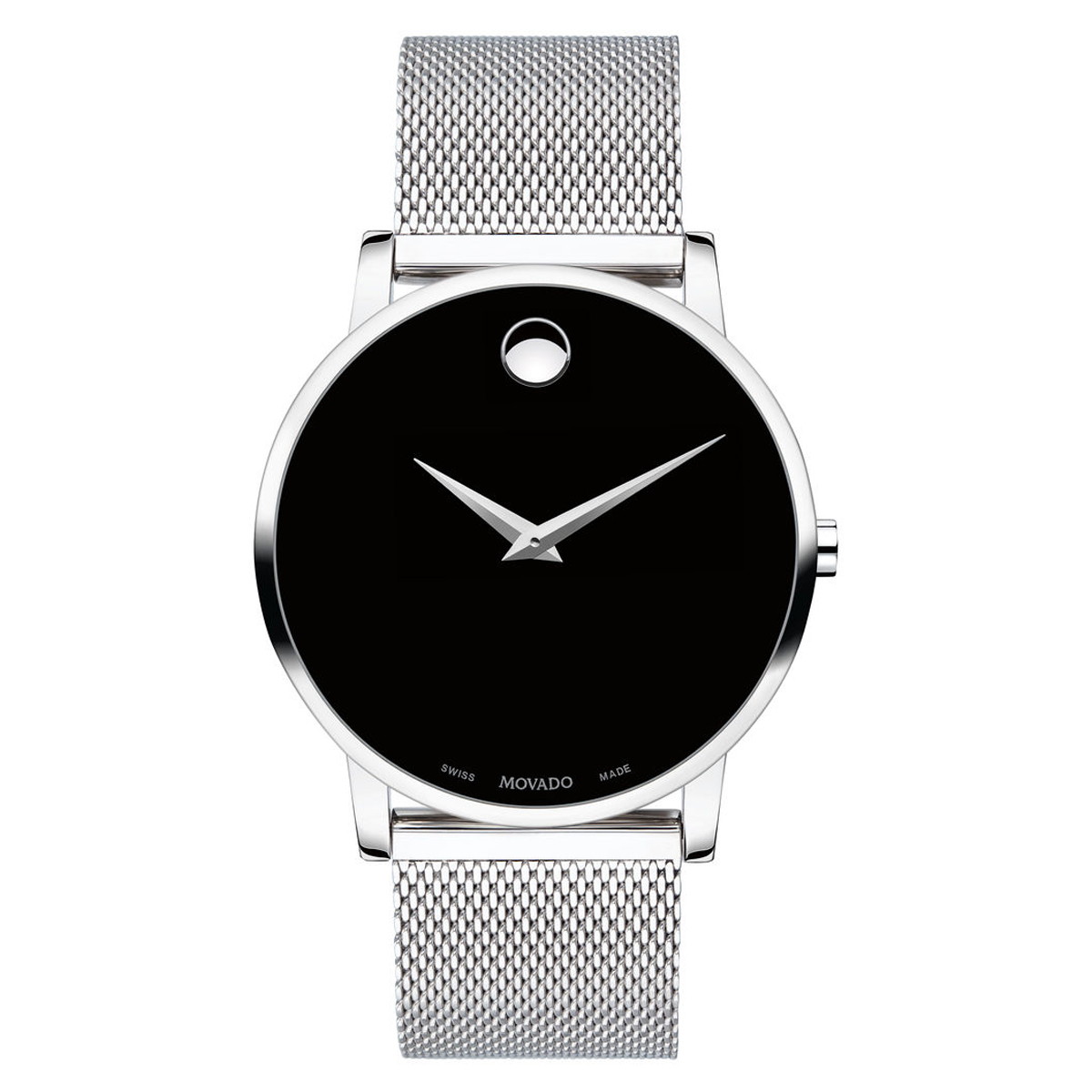Movado Museum Classic 40mm Stainless Steel Mens Watch 0607219