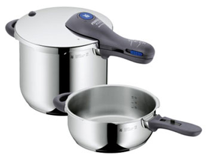 WMF Perfect Plus 6.5qt/3qt Pressure Cooker Set