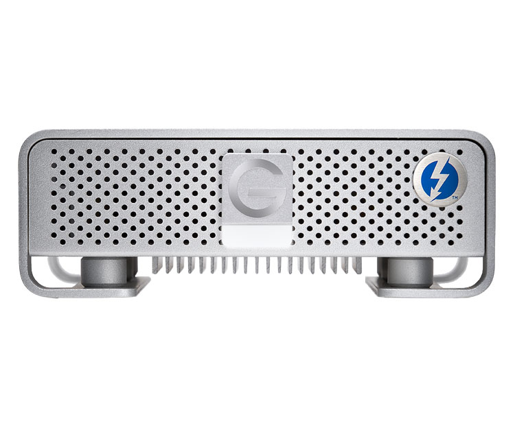 G-Technology G-DRIVE With Thunderbolt Silver USB 3TB External Hard Drive