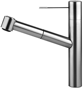 KWC Ono Series Pull Out Spray Stainless Steel Kitchen Faucet