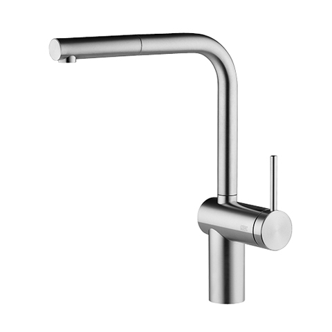 KWC Livello Stainless Steel Single Lever Faucet