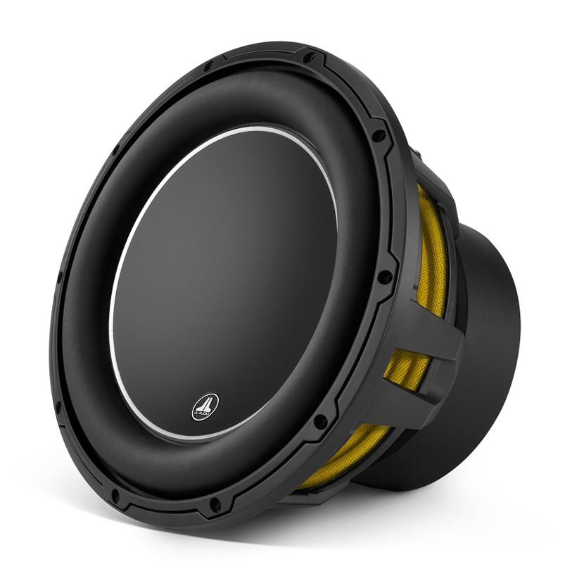 """JL AUDIO W6v3 12"""" Black Car Audio Subwoofer"""