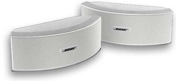 Bose 151 SE Enviromental Speakers - White