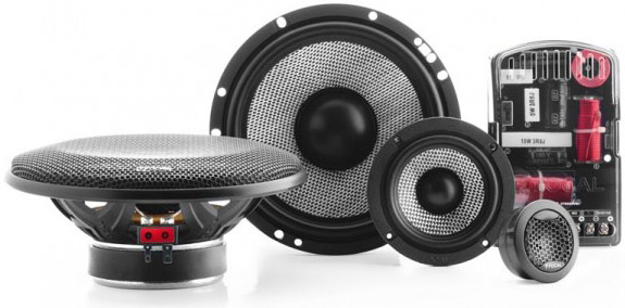 "Focal Access 165AS3 6-3/4"" 3-WAY Component System"