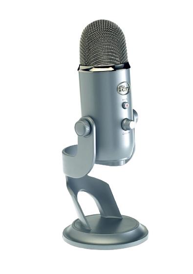 Blue Microphones Silver Yeti Usb Microphone 1950