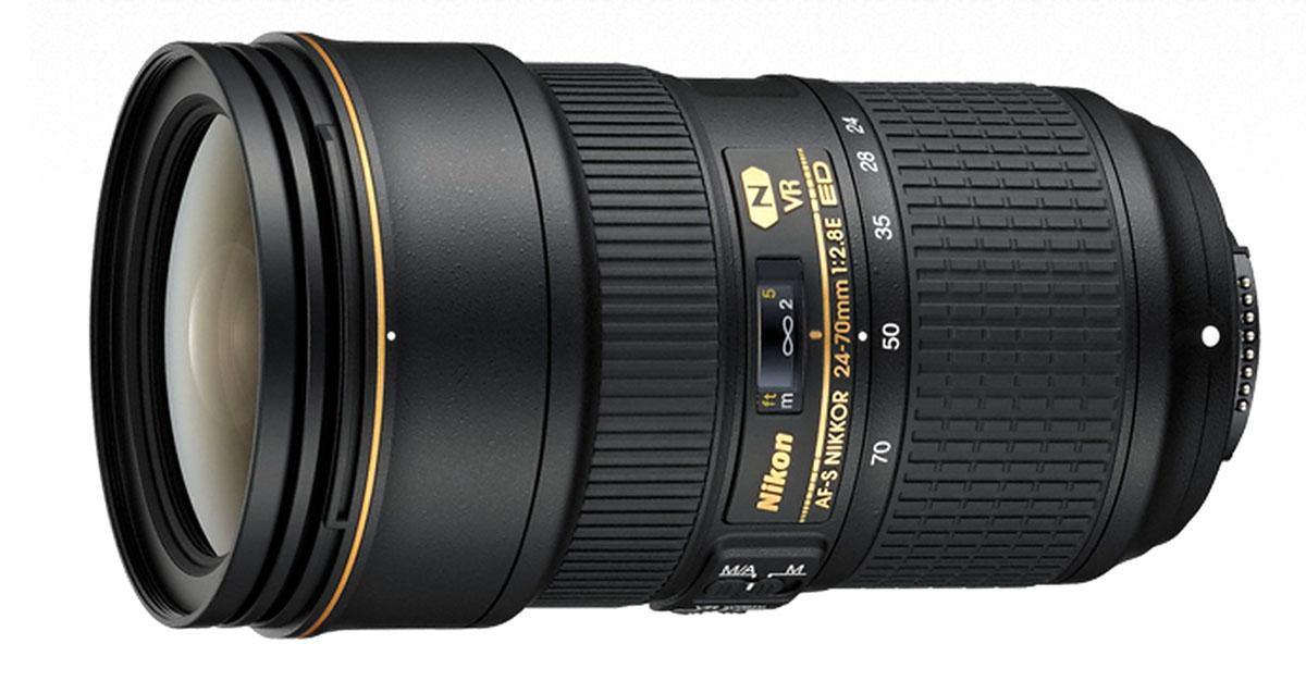 Nikon AF-S Fx NIKKOR 24-70mm f/2.8E ED VR Camera Lens