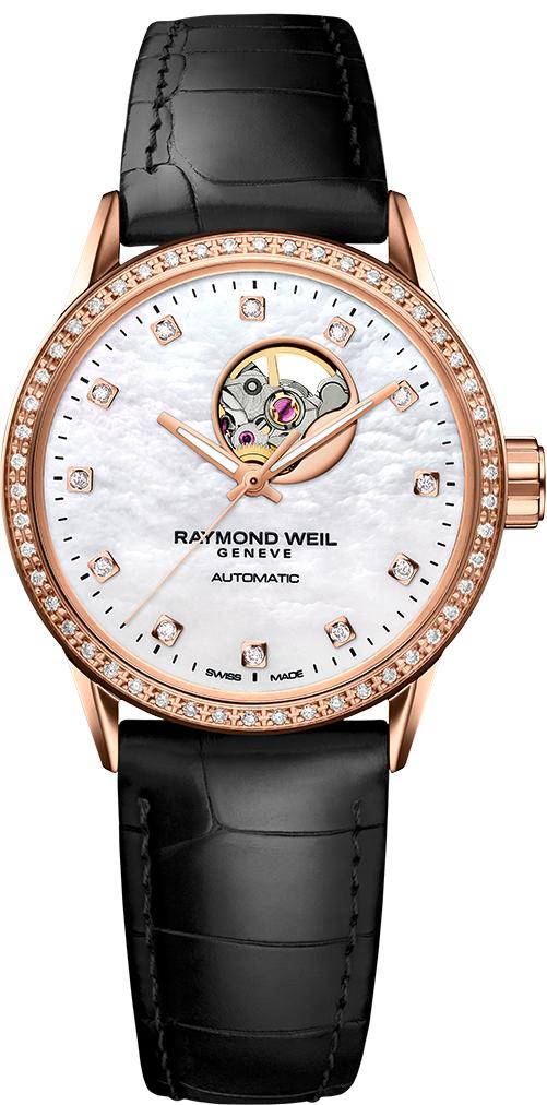 Raymond Weil Freelancer Rose Gold Womens Watch