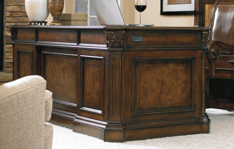 "Hooker Furniture Home Office European Renaissance II 73"" Executive Desk"