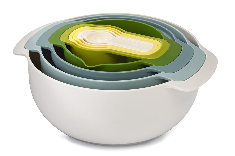 Joseph Joseph Opal Nest 9 Plus Food Preparation Bowl Set