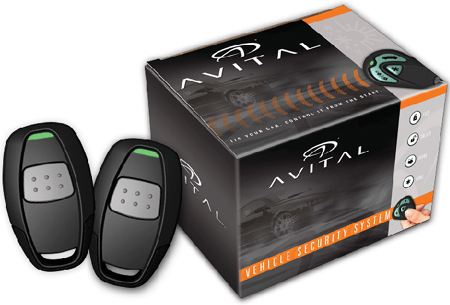 Avital 4113 One Button Remote Start With Unlocking Feature - 4113LX