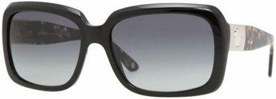 Versace Oversized Black Frame Ladies Sunglasses - 4190GB111A
