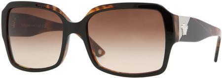 Versace Havana Frame Square Womens Sunglasses - VE04202_913_13