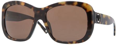 Versace Large Plastic Havana Womens Sunglasses - VE04212_941_73