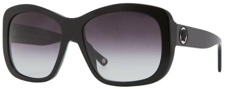 Versace Large Plastic Black Womens Sunglasses - VE04212_GB1_8G