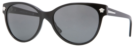 Versace Cat Eye Black Women - VE04214_GB1_87