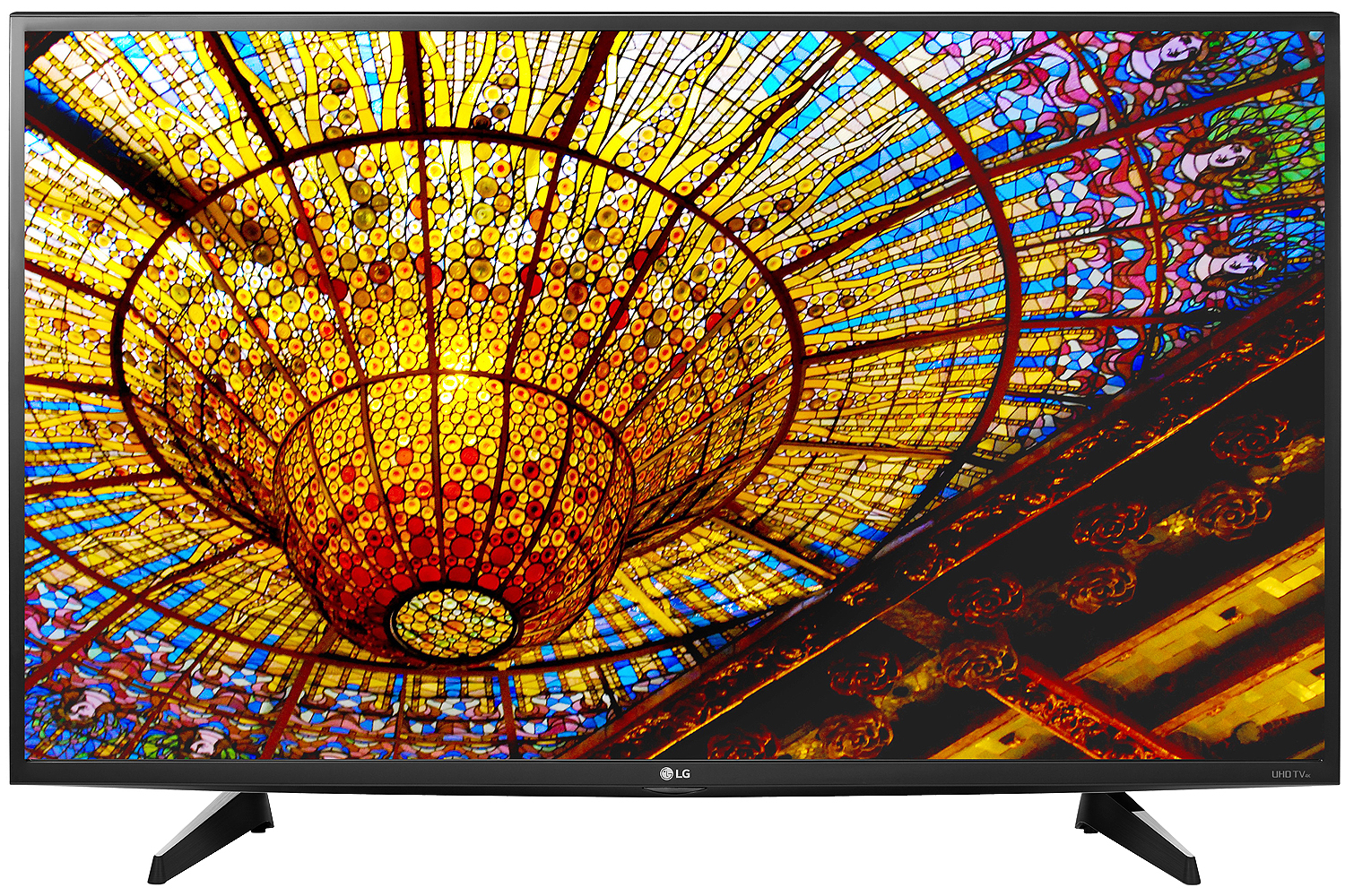 "LG 43"" Black UHD 4K LED Smart HDTV With WebOS 3.0"