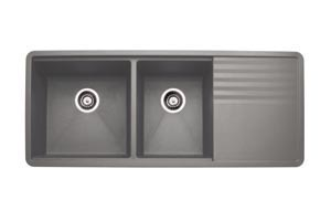 Blanco Precis Multilevel 1 3 4 Bowl Sink Amp Drainer 440411
