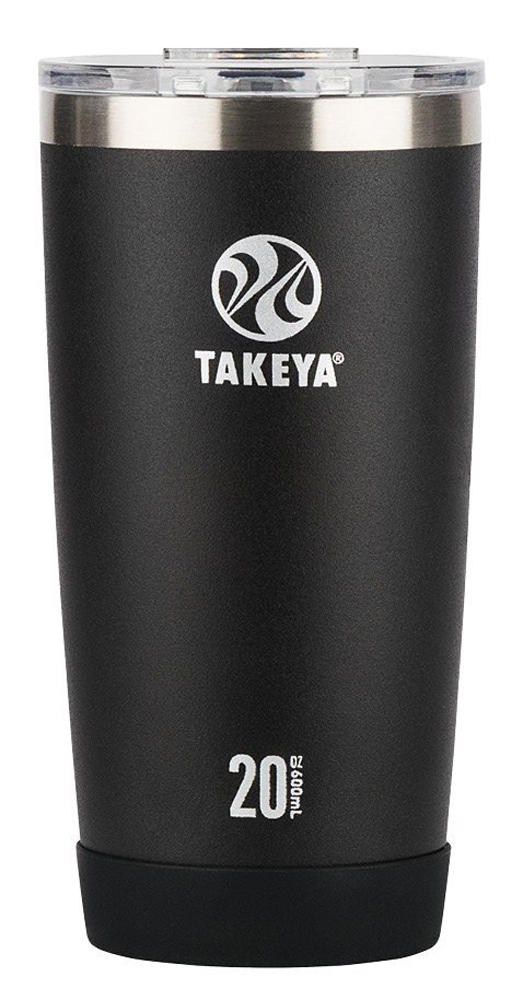 Takeya Actives 20 Oz Onyx Stainless Tumbler 51080