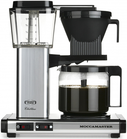 Technivorm Moccamaster Silver Coffee Maker