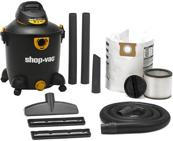 Shop-Vac 12 Gallon 5.0 Peak HP Wet & Dry Vacuum