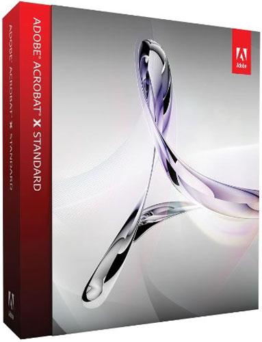 Adobe Acrobat X Standard - 65085821