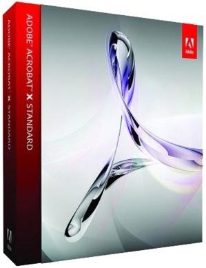 Adobe Acrobat X Standard Software Upgrade - 65096933
