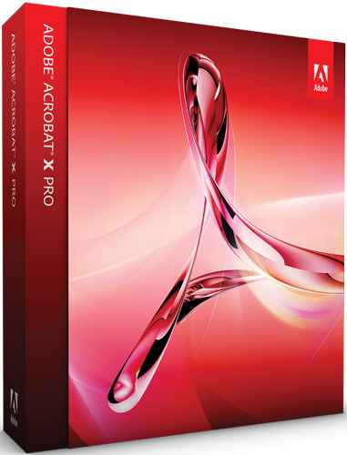 Adobe Acrobat X Pro Software Upgrade - 65096935