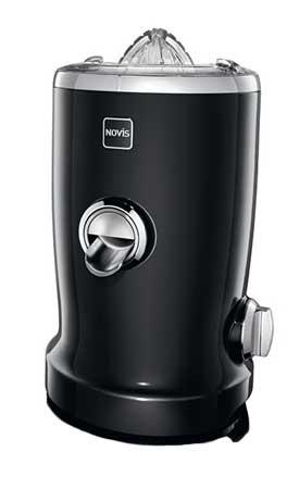 Novis Vita Juicer Black 4-in-1 Multi-Function Electric Juicer with Bonus Tuttle Juices and Smoothies Cookbook