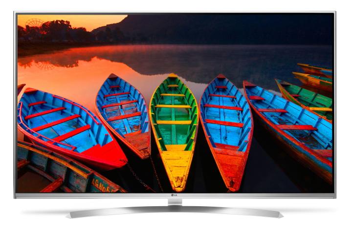 "LG 65"" Silver Super UHD 4K 3D Smart LED HDTV"
