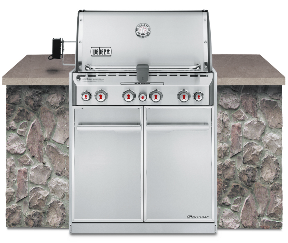 Weber Summit S-460 Built In Natural Gas Grill