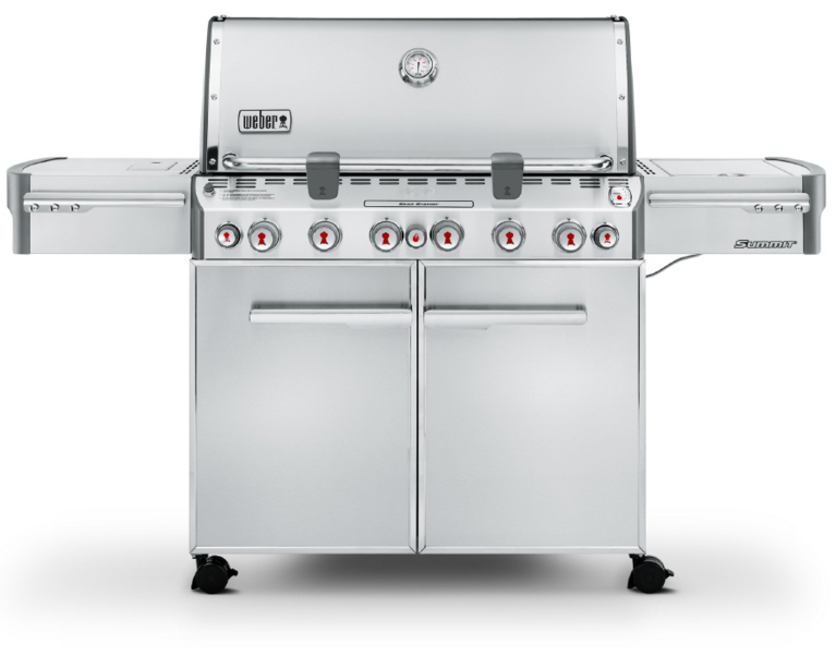 Weber Summit S-670 Stainless Steel LP Gas Grill