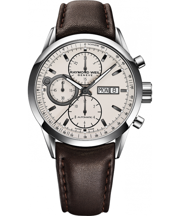 Raymond Weil Freelancer Automatic Chronograph Stainless S...