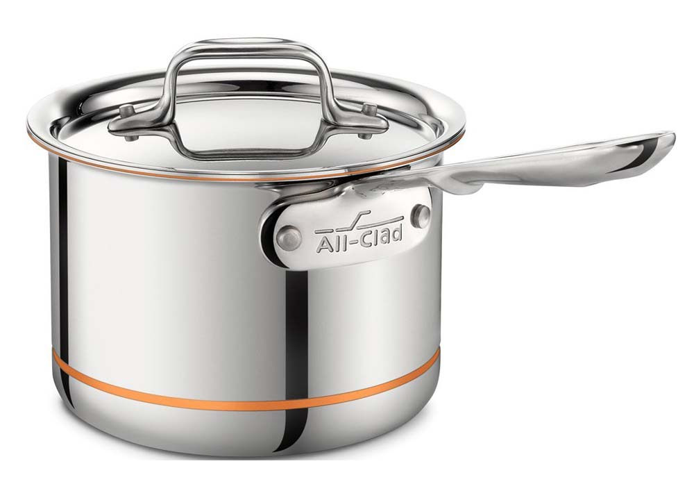 All-Clad Copper Core Collection 2 Qt Sauce Pan