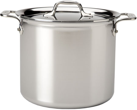 All Clad Stainless Steel 6 Qt Stock Pot - 8701004424