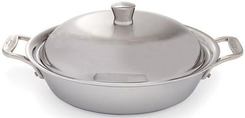 All Clad 2 Quart Stainless Steel Saute/Casserole - 8701004495