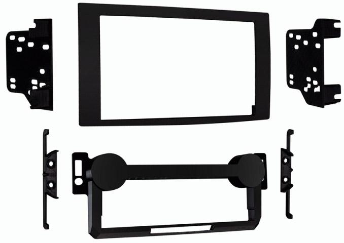 Metra Electronics Black Stereo Installation Kit