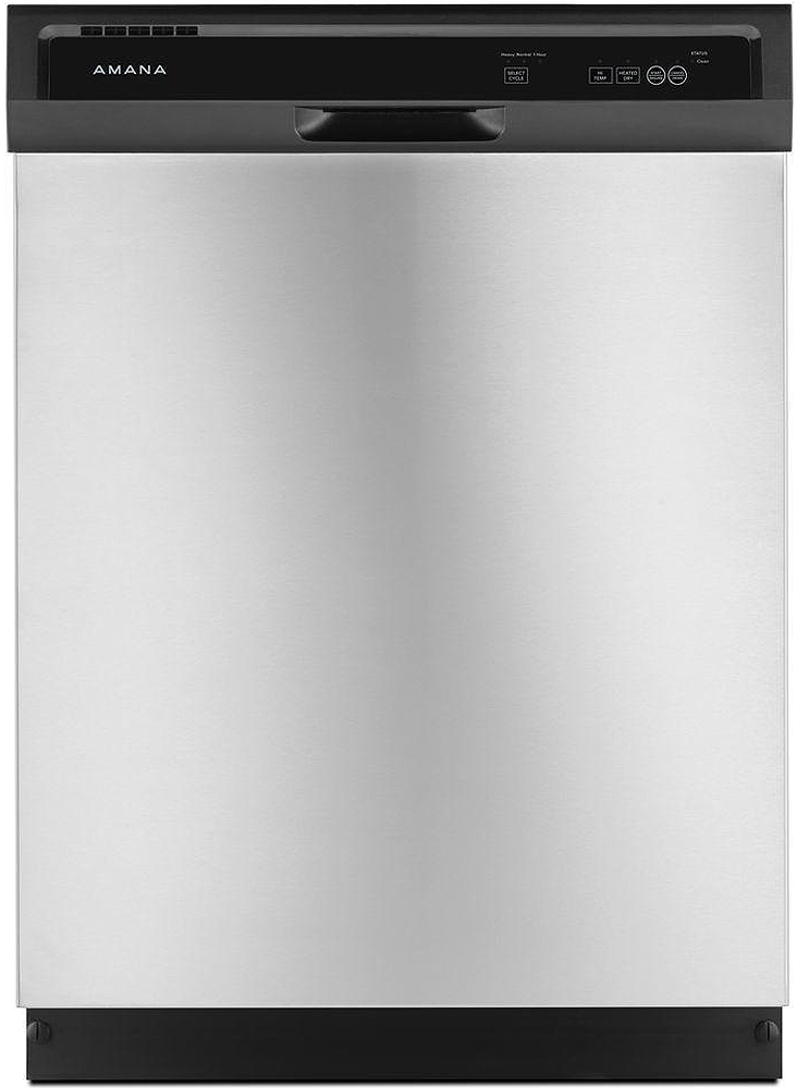 Amana Stainless Steel Built-In Dishwasher