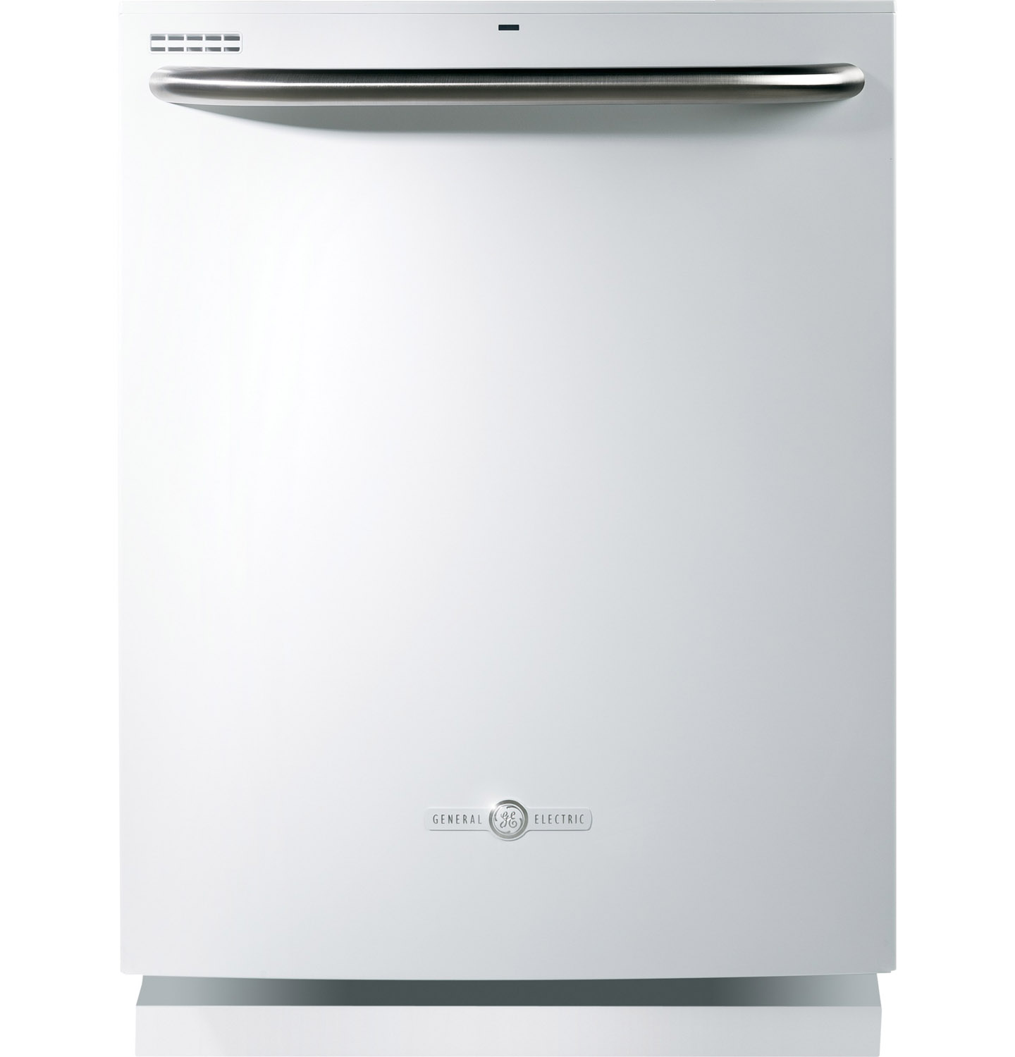 "GE 24"" Artistry Series White Built-In Dishwasher"
