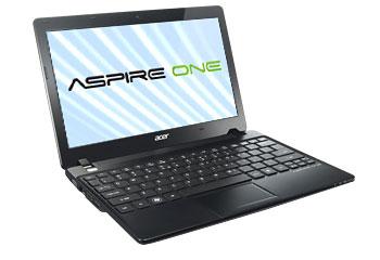 Acer Aspire V1 Series Black Laptop Computer - AO725-0688