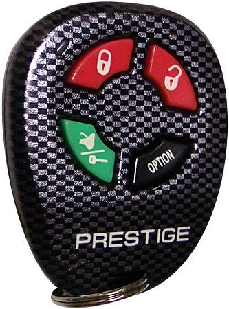 Audiovox Prestige 4 Button Carbon Remote