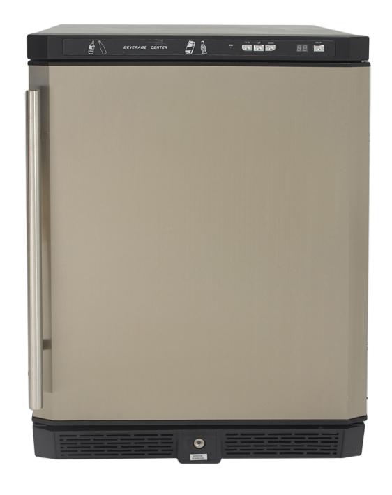 Avanti 5.1 Cu. Ft. Stainless Steel Beverage Cooler