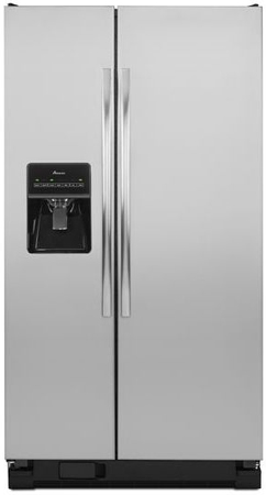 Amana Stainless Side By Side Refrigerator