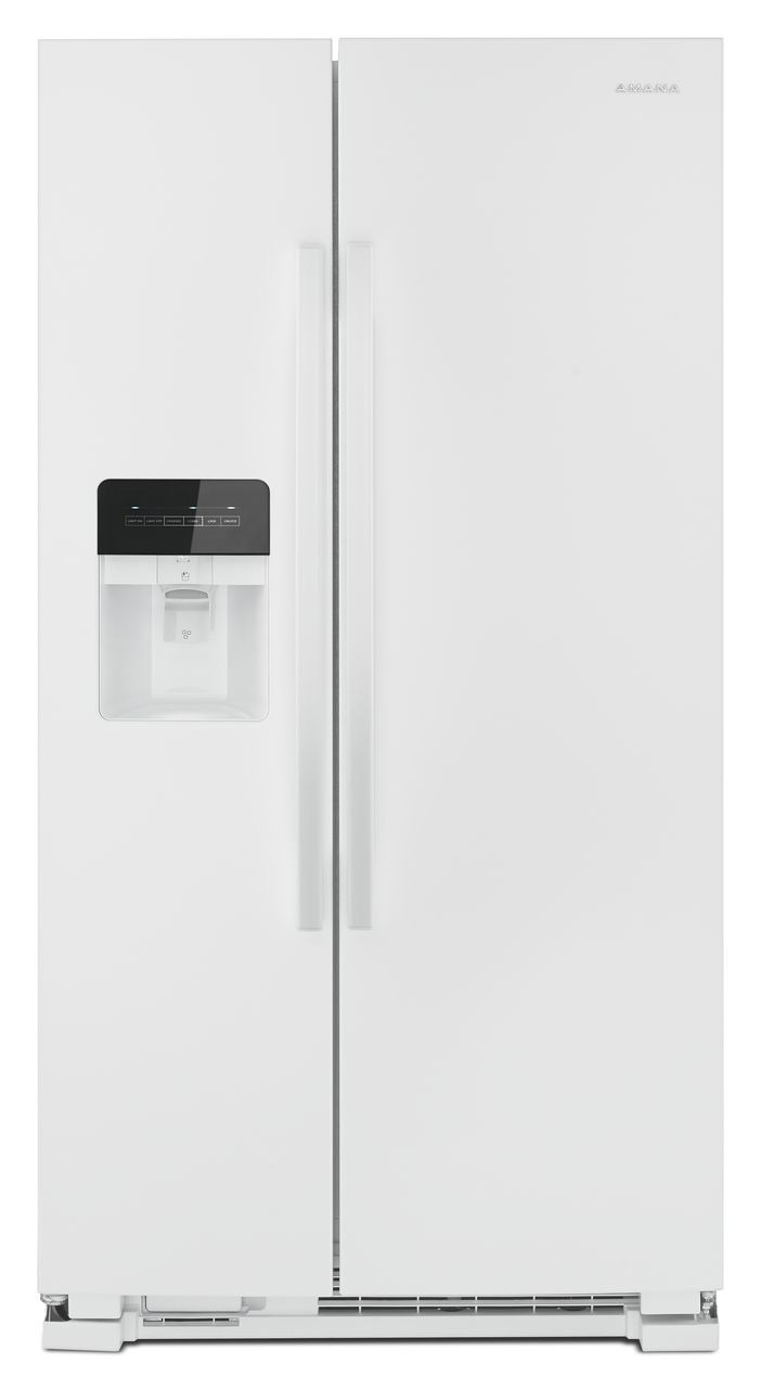 Amana 36 Quot White Side By Side Refrigerator Asi2575grw