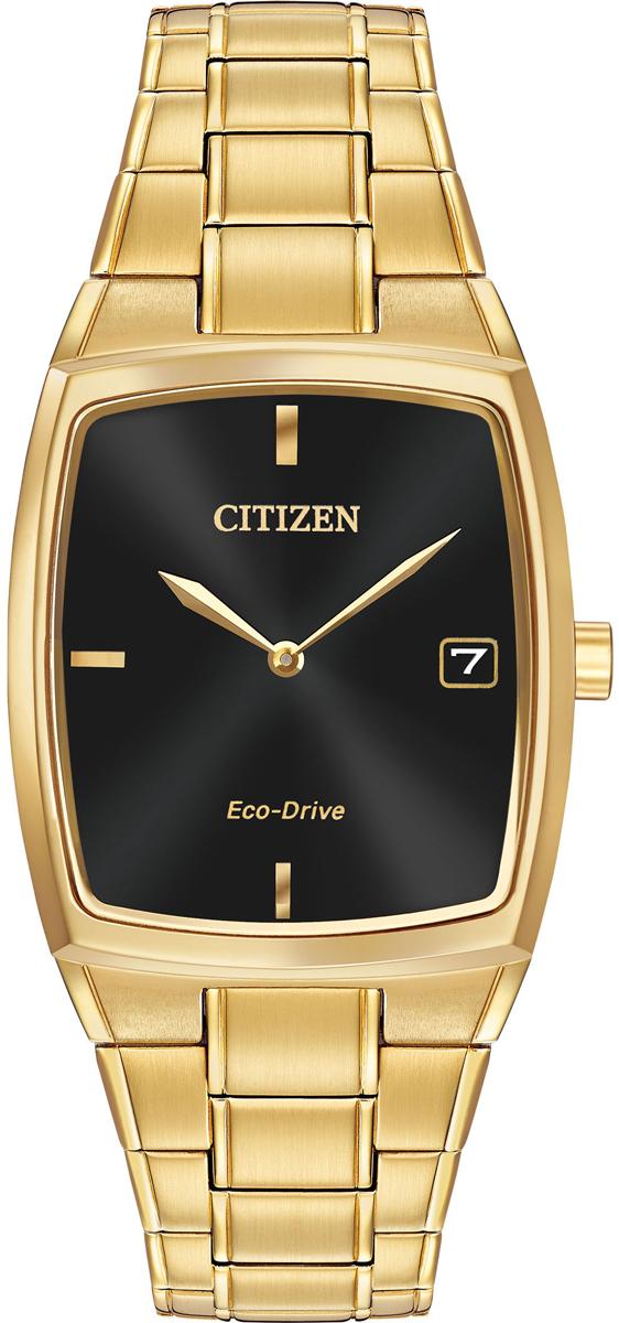 Citizen Eco-Drive Gold-Tone Bracelet Mens Watch
